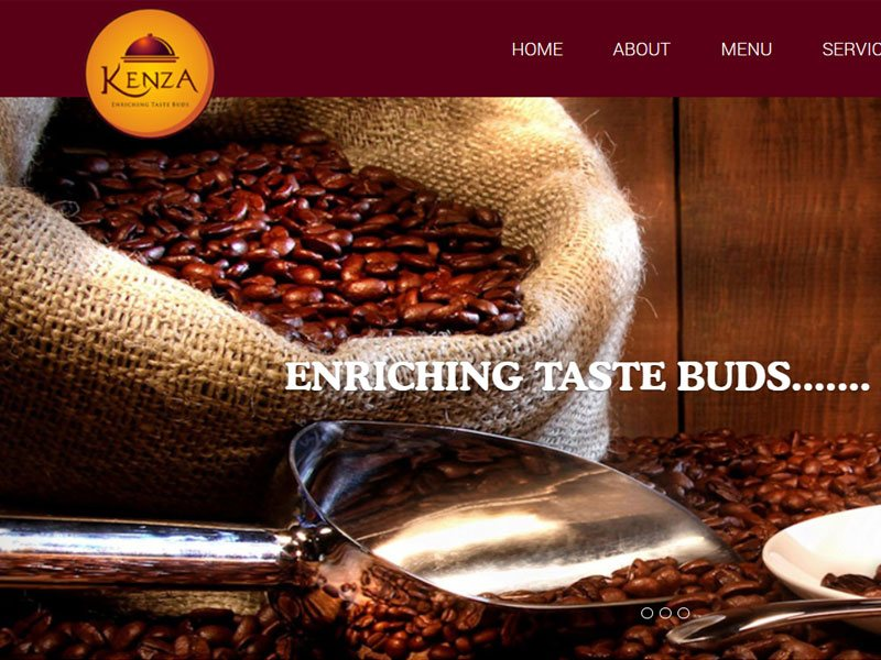 web design company calicut, freelance web designer cochin | 8 year experienced freelance web designer designed website for a Calicut based Restaurant | Restaurant website designed and developed for KENZA Restaurant and Cakes by professional freelance web designer in calicut